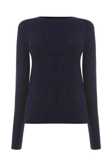 WAVE POINTELLE JUMPER