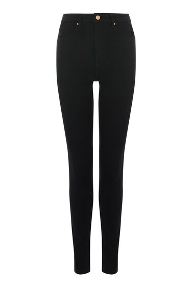 HIGH RISE SKINNY CUT JEANS