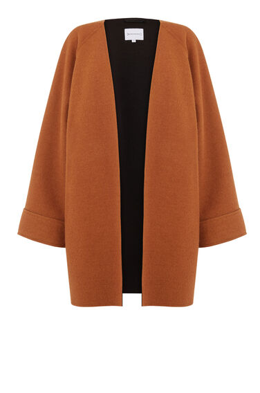 SHORT BONDED SWING COAT