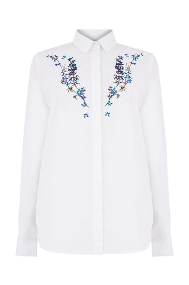 GILLY FLORAL EMBROIDERED SHIRT