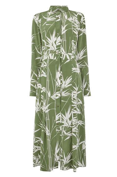 CLIMBING BAMBOO SILK DRESS