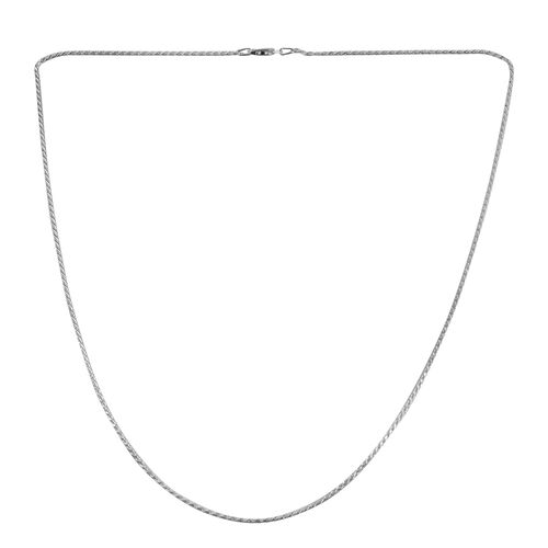 Close Out Deal Sterling Silver Chain (Size 24), Silver wt 3.80 Gms.