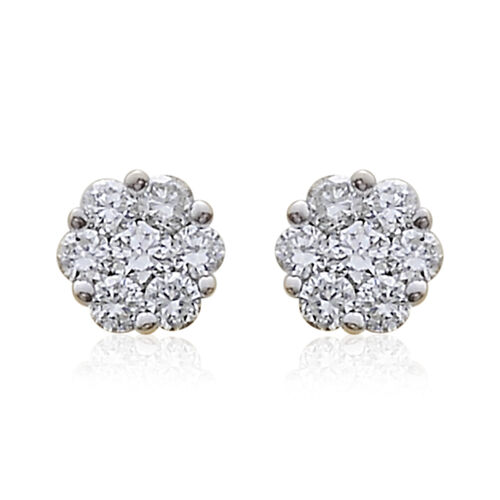 ILIANA 18K Y Gold IGI Certified Diamond (Rnd) (SI/G-H) Stud Earrings (with Screw Back) 0.250 Ct.