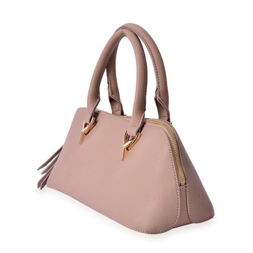 Beige Colour Tote Bag (Size 34x15x13 Cm)
