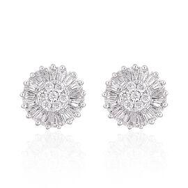 ILIANA 18K Yellow Gold IGI Certified Diamond (F-H/VS-SI) Stud Earrings (with Screw Back) 0.500 Ct.