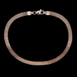 Royal Bali Collection 9K R Gold Bismark Bracelet (Size 7.5), Gold wt 2.13 Gms.