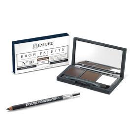 Eyelure Brow Kit- Firm Brow Pencil Dark Brown and Eye Brow Palette Dark Brown