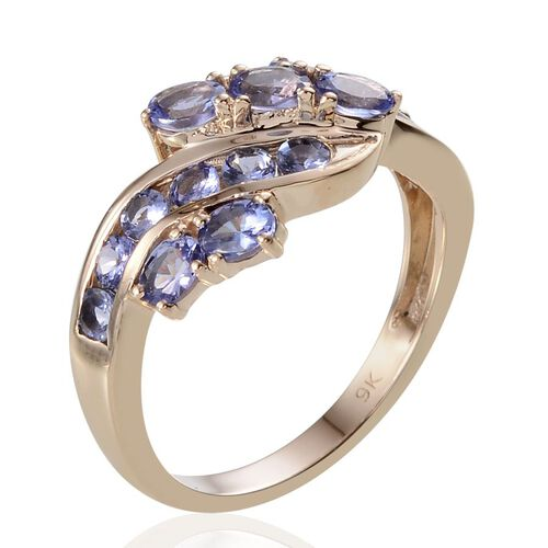 9K Y Gold Tanzanite (Ovl) Ring 2.750 Ct.
