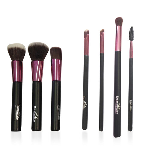 Set of 7 Everyday Essentials Makeup Brushes