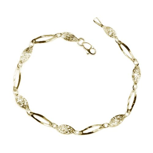 TREASURES OF ISTANBUL 9K Yellow Gold Bracelet (Size 7.5)