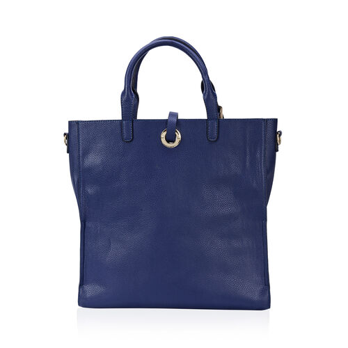 Set of 2 - Olivia Large Tote with Adjustable and Removable Shoulder Strap (Size 38x35 and 31x30 Cm)