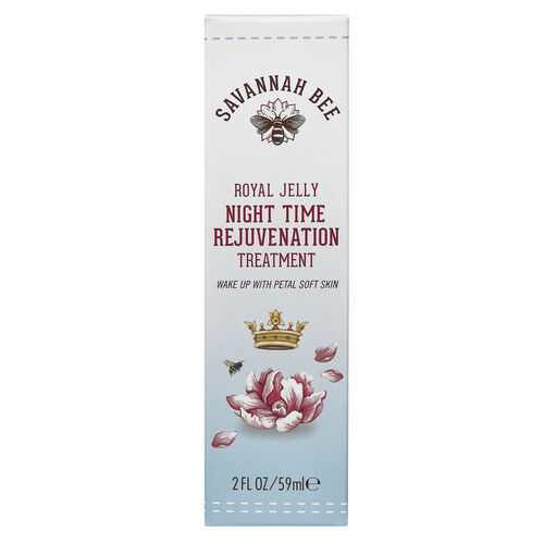 Savannah Bee Royal Jelly Night time Rejuvenation Treatment 2oz  -   will be sent in 4-5 working days