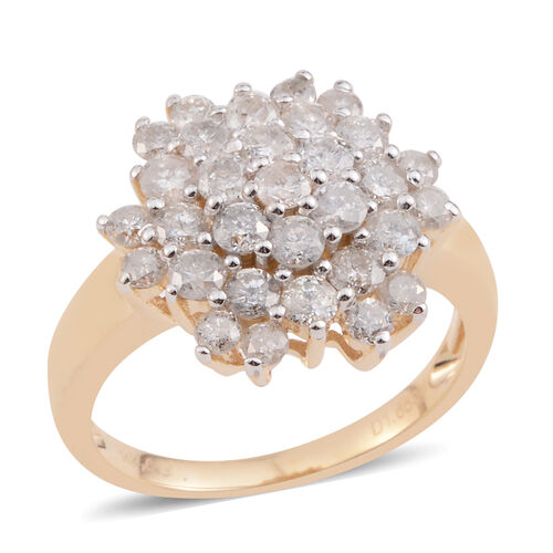 Designer Inspired - Limited Edition - Tucson Collection 14K Y Gold Diamond (Rnd) Ring 1.660 Ct (I2 Graded)