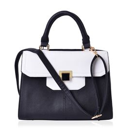 LIMITED COLLECTION City Classic Tote Bag with External Zipper Pocket and Adjustable and Removable Shoulder Strap (30.5x22x14.5 Cm)