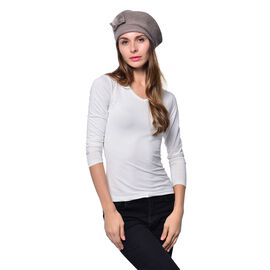 Mink Colour Ladies Cap