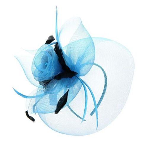 Two Tone Ocean Flower Fascinator