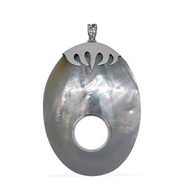 Royal Bali Collection Mother of Pearl Pendant in Sterling Silver 93.000 Ct.