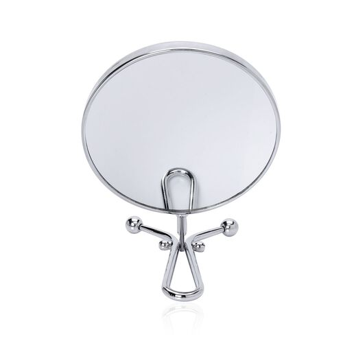 Double Mirror Silver Color.