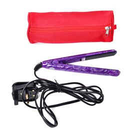 Purple Colour Mini Travel Hair Straightener