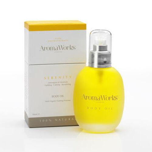 AROMAWORKS-Body Oil- Serenity-100ml