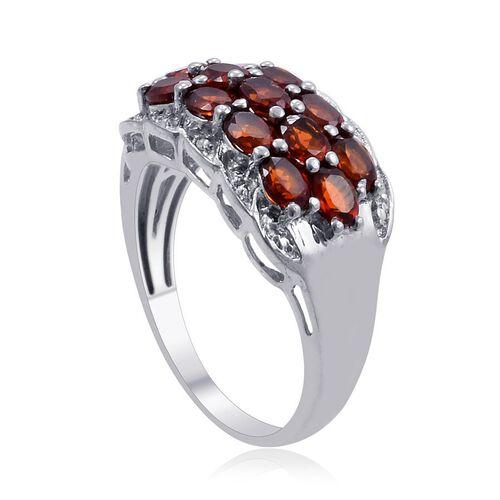 Madeira Citrine (Ovl 2.00 Ct), Diamond Ring in Platinum Bond 2.020 Ct.
