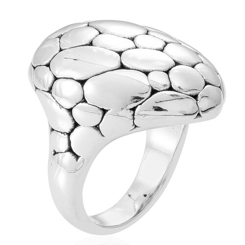 Thai Sterling Silver Ring, Silver wt 7.50 Gms.