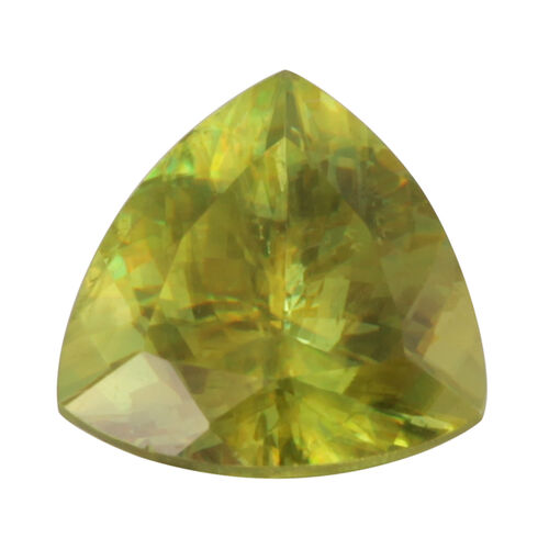 Sphene (Trillion Free Faceted 4A) 3.240 Cts