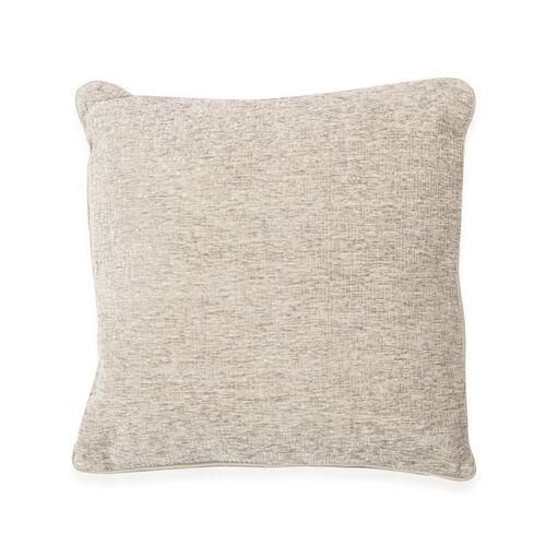 Tiles Pattern Grey Colour Cushion (Size 43x43 Cm)