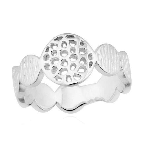 RACHEL GALLEY Sterling Silver Ocean Ring, Silver wt 4.12 Gms.