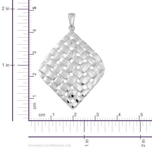 Thai Sterling Silver Weave Pendant, Silver wt 4.51 Gms.
