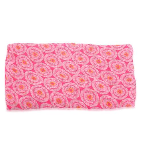 Circle Pattern Pink Kimono (Size 70x100 Cm)