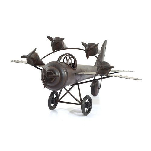 Home Decor - Chocolate Colour Handmade Aeroplane