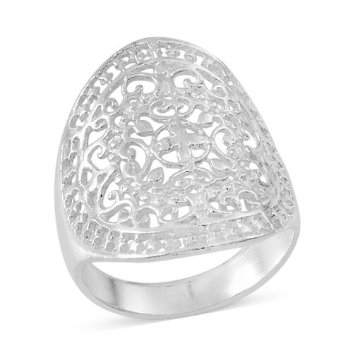 Thai Sterling Silver Ring, Silver wt 4.38 Gms.
