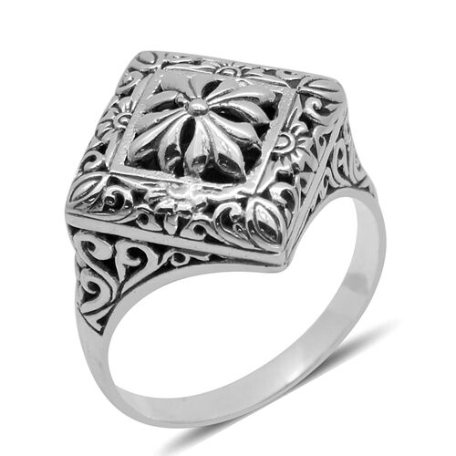Royal Bali Collection Sterling Silver Ring, Silver wt 4.50 Gms.