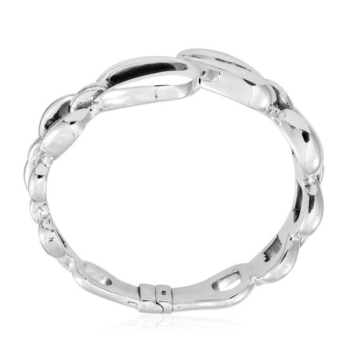 Thai Statement Collection Sterling Silver Bangle (Size 7.5), Silver wt 19.90 Gms.