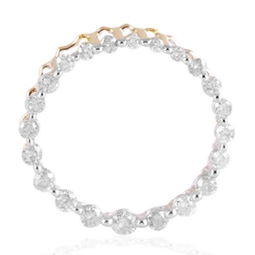 9K Y Gold Circle of Life SGL Certified Diamond (Rnd) (I3/G-H)  Pendant 0.500 Ct.
