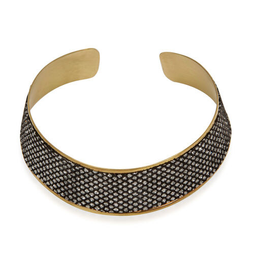 Close Out Deal Brass Choker and Cuff Bangle