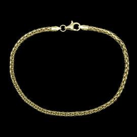 Royal Bali Collection ILIANA 18K Y Gold Tulang Naga Bracelet (Size 7.5), Gold wt 3.00 Gms.