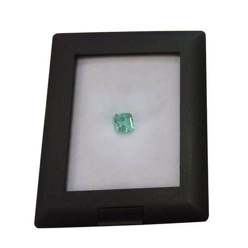 Boyaca Colombian Emerald (Octagon 7x6.5 Faceted 3A) 1.460 Ct.