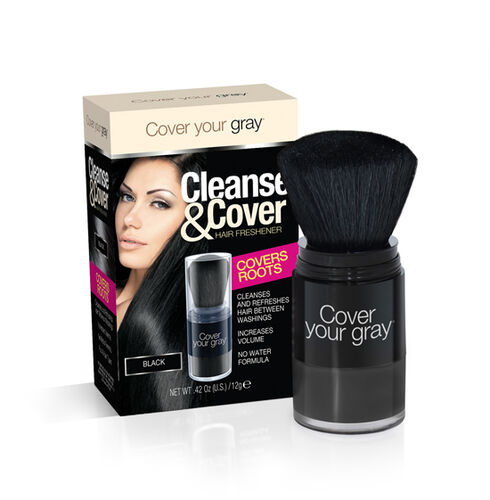 CYG Cleanse and Cover Hair Freshener 12g -- Black