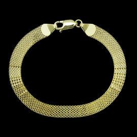 JCK Vegas  9K Y Gold Bismark Bracelet (Size 7.5), Gold wt 4.68 Gms.