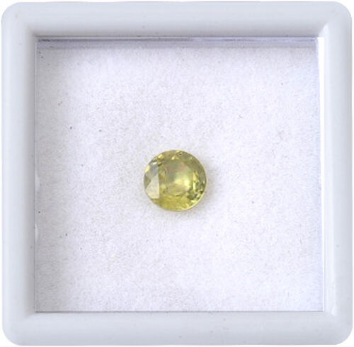 Sava Sphene (Rnd 5 mm Faceted 3A) 0.580 Ct.