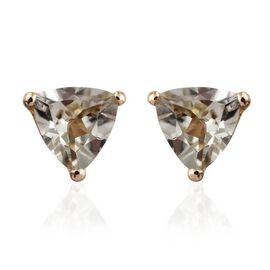 ILIANA 18K Y Gold Turkizite (Trl) Stud Earrings 1.000 Ct.