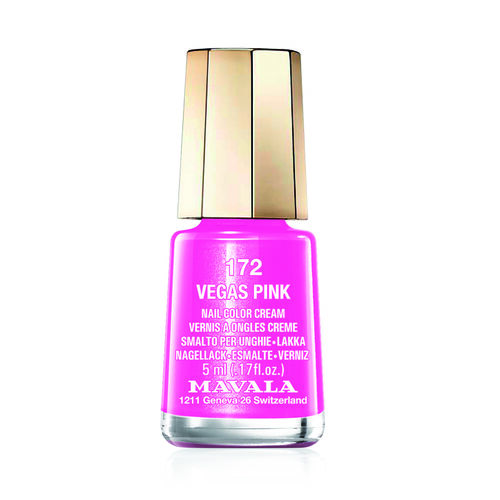 MAVALA- Vegas Pink 172 Nail Polish and Cherry Pink 578 Lipstick