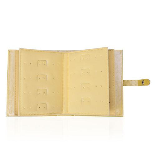 TJC Book of Earrings in Golden Colour (Size 19X14.7X5 Cm)