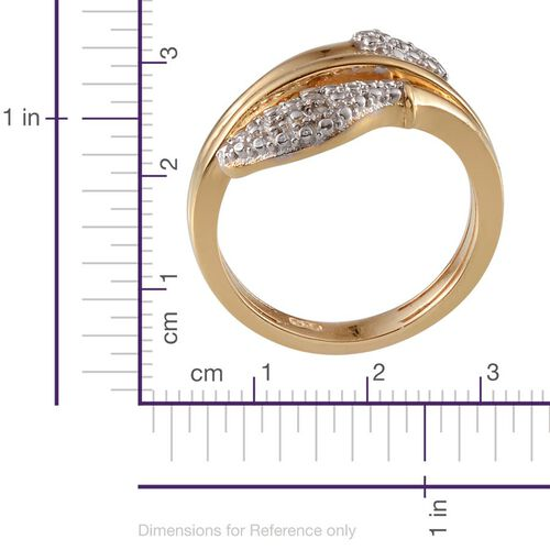 Diamond (Rnd) Ring in Gold Bond 0.050 Ct.