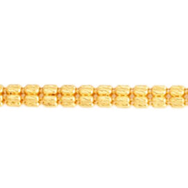 22K Y Gold Chain (Size 20), Gold wt 16.60 Gms.