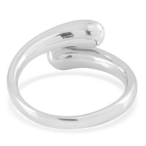 LucyQ Art Deco Ring in Rhodium Plated Sterling Silver 4.99 Gms.
