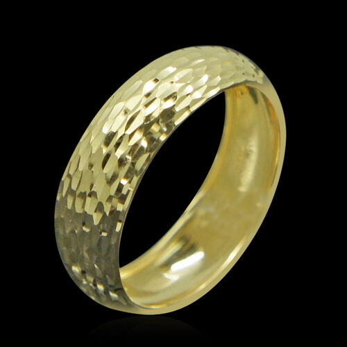 JCK Vegas Collection 9K Y Gold Band Ring