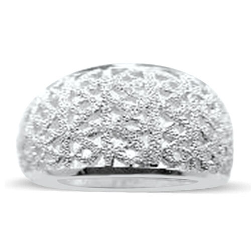 Thai Sterling Silver Ring, Silver wt 8.08 Gms.